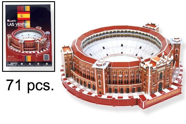 3D PUZZLE PLAZA DE TOROS LAS VENTAS