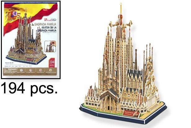 3D PUZZLE SAGRADA FAMILIA BARCELONA
