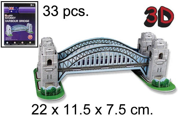 3D PUZZLE SYDNEY HARBOUR BRIDGE AUSTRALI