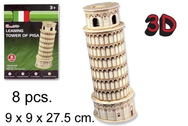 3D PUZZLE TORRE DE PISA