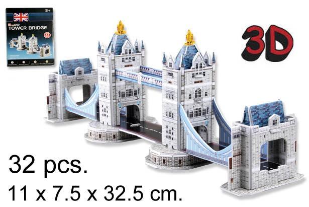 3D PUZZLE PUENTE DE LA TORRE UK