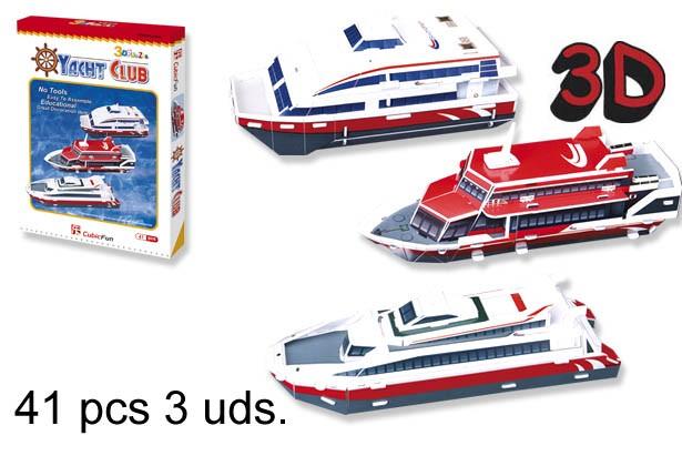 3D PUZZLE CLUB DE YATES