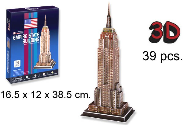 3D PUZZLE EMPIRE STATE BUIDING USA