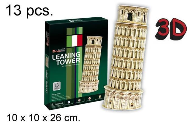 3D PUZZLE TORRE INCLINADA DE PISA