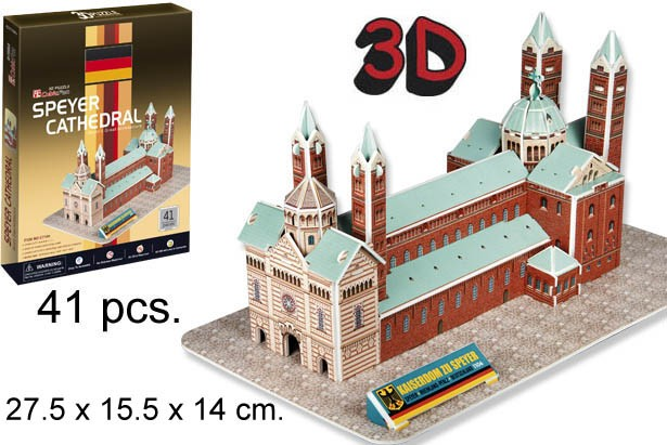 3D PUZZLE CATEDRAL DE ESPIRA GERMANY