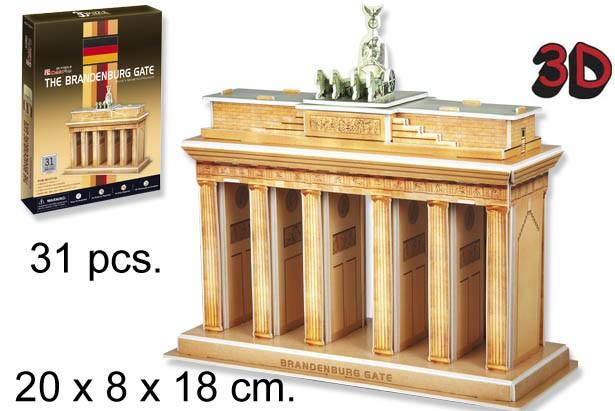 3D PUZZLE PUERTA DE BANDEBURGO GERMANY