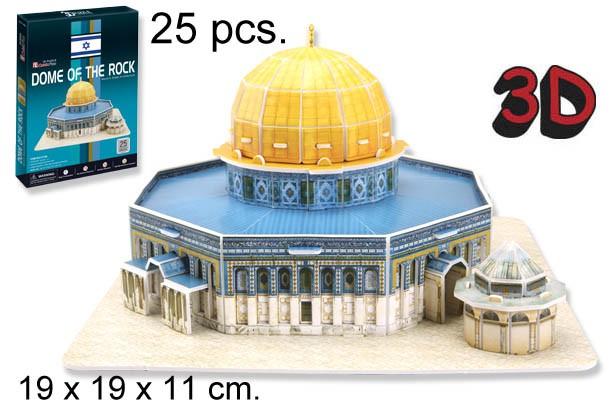 3D PUZZLE CUPULA DE LA ROCA JERUSALEM