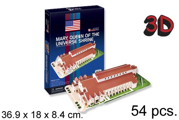 3D PUZZLE MARY QUEEN OF THE UNIVERSE SHI