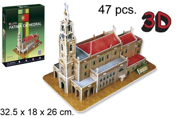 3D PUZZLE CATHEDRAL DE FATIMA
