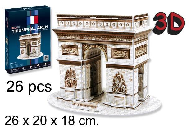 3D PUZZLE ARCO DEL TRIUNFO PARIS