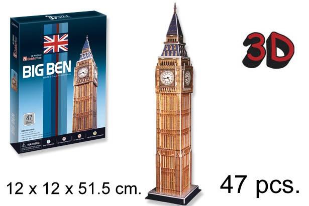 3D PUZZLE BIG BEN UK
