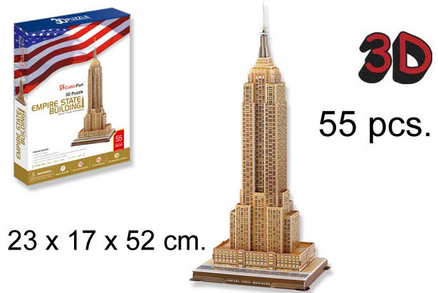 3D PUZZLE EMPIRE STATE BUILDING USA