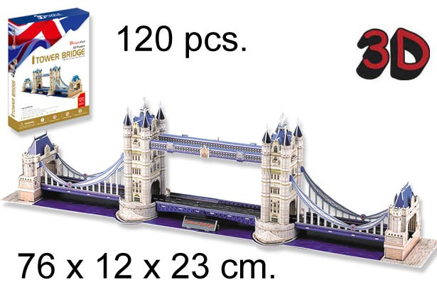 3D PUZZLE LONDON BRIDGE LONDON