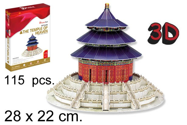 3D PUZZLE EL TEMPLO DEL CIELO CHINA
