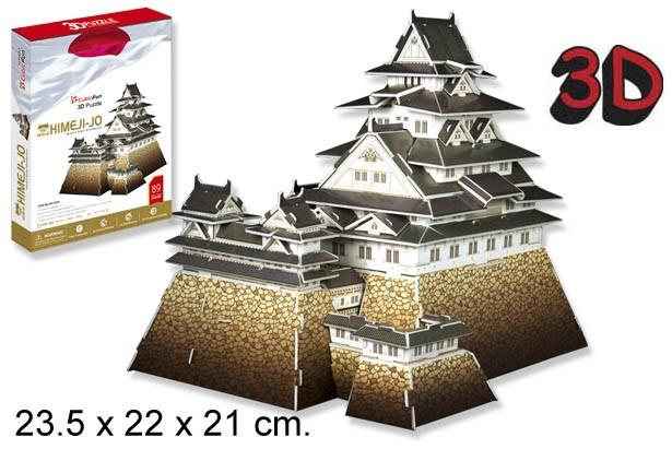 3D PUZZLE CASTILLO HIMEJI JAPON