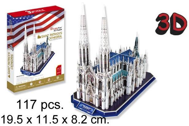 3D PUZZLE CATEDRAL DE SAN PATRICIO
