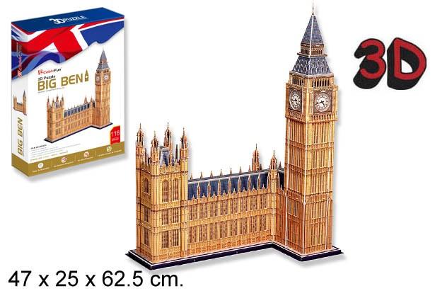 3D PUZZLE BIG BEN LONDRES