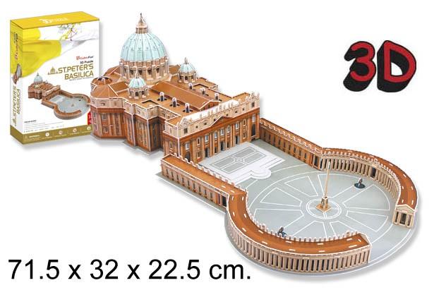 3D PUZZLE BASILICA DE SAN PEDRO