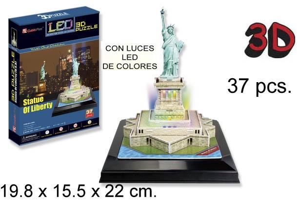 3D PUZZLE ESTATUA DE LA LIBERTAD USA