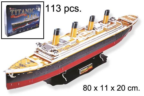 3D PUZZLE TITANIC GRANDE