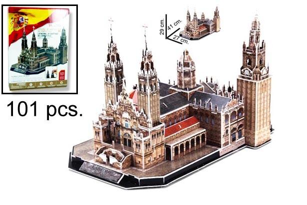 3D PUZZLE CATEDRAL DE SANTIAGO DE COMPOS