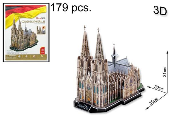 3D PUZZLE COLOGNE CATHEDRAL 179 PCS