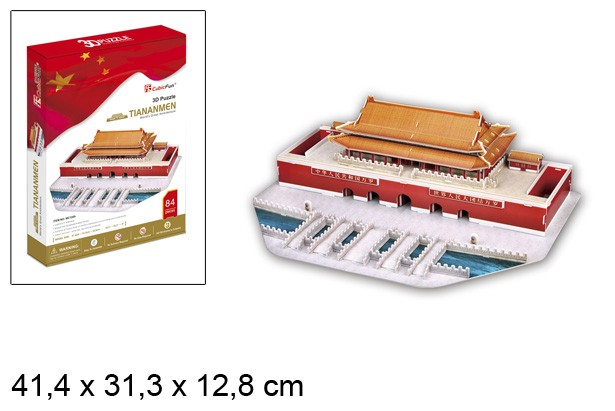 3D PUZZLE TIANANMEN CHINA