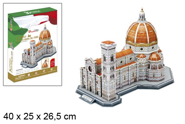 3D PUZZLE BASILICA SAINT MARY FLOWER
