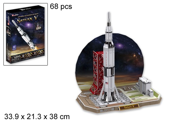 3D PUZZLE SATURN V