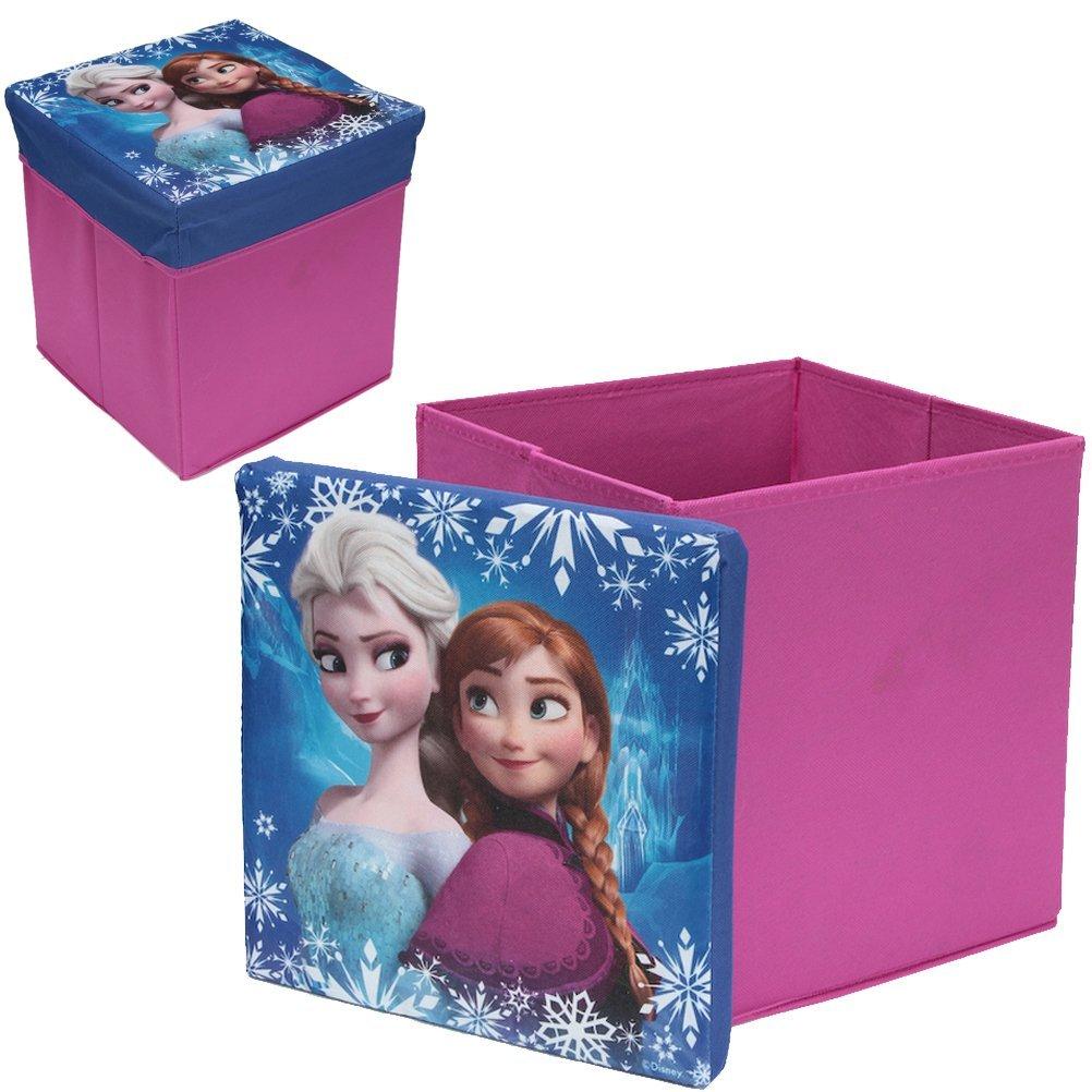 Frozen - Caja-Puff acolchada, 31 x 31 x 33 cm (Sun City RNA401347)