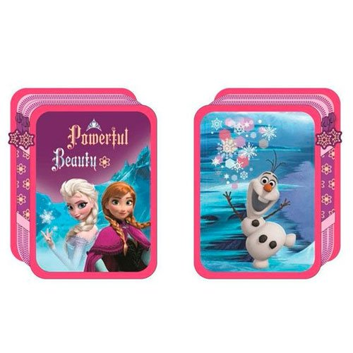 Plumier Frozen Disney doble