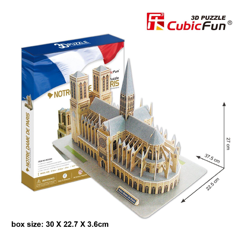 3D PUZZLE CATEDRAL DE NOTRE DAME