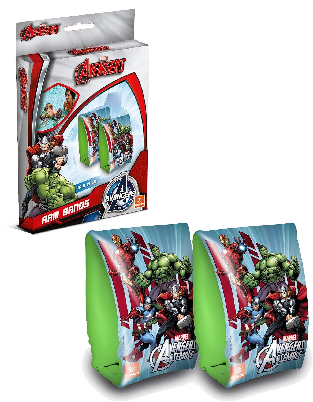 Avengers - Manguitos-brazaletes de natación, 15 x 25 cm (Mondo 16303)