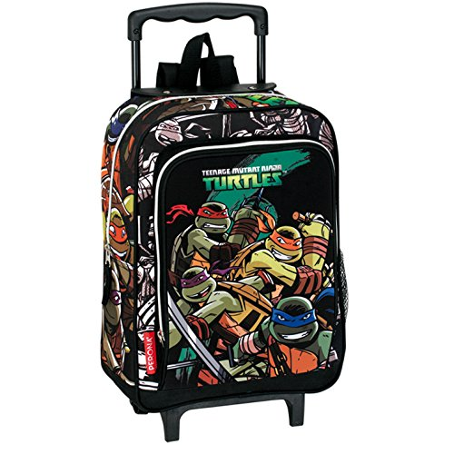 Turtles - Carro infantil, color verde y negro (Montichelvo Industrial 29936)