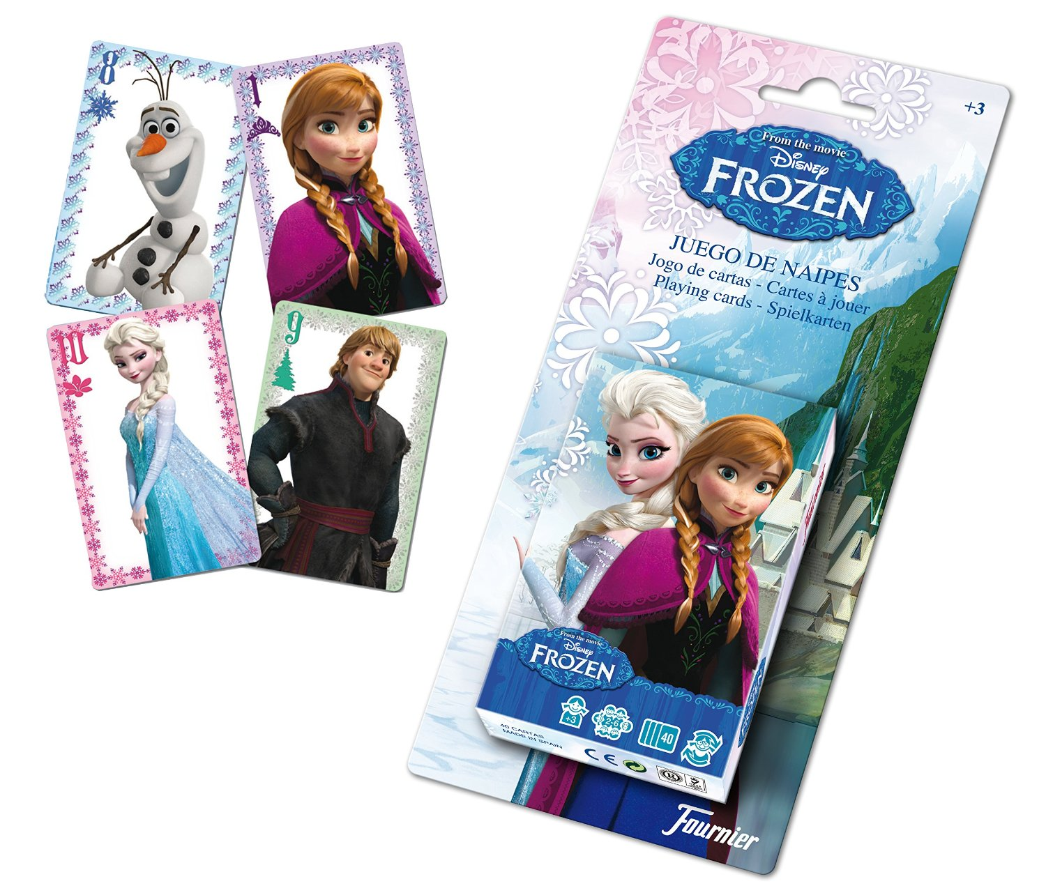 BARAJA DE NAIPES FROZEN DISNEY