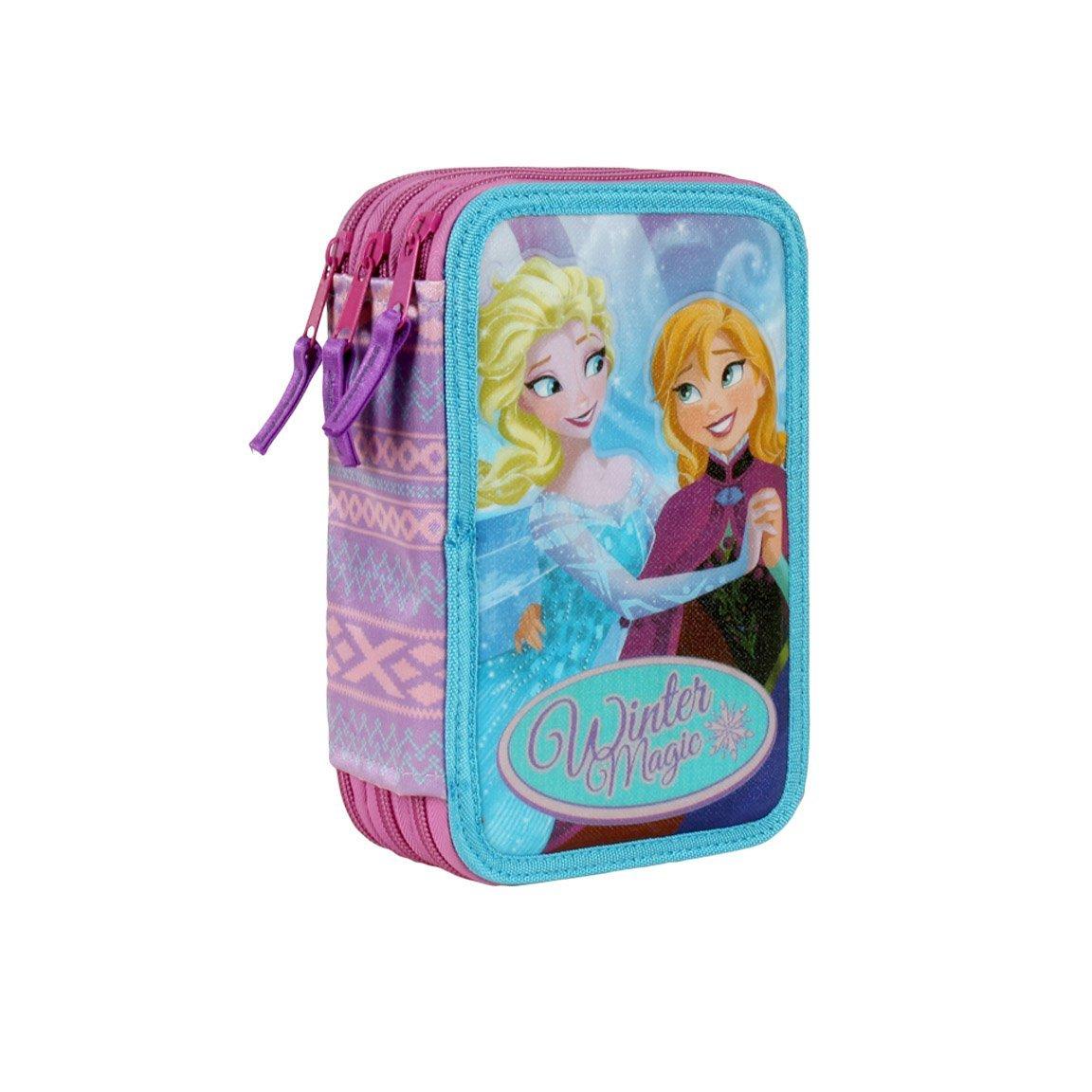 Plumier Frozen Disney Winter Magic triple
