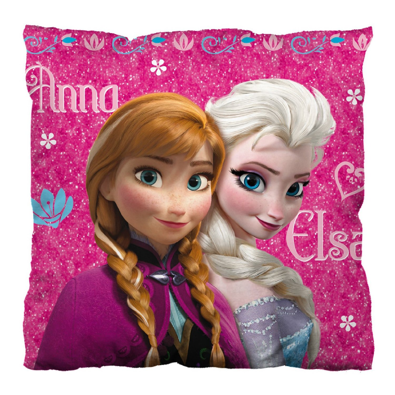 Cojin Disney Frozen Anna y Elsa (35x35 cm)