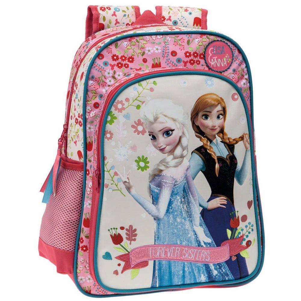 Mochila Escolar Disney Frozen Sisters