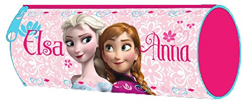 Frozen - Portatodo redondo, 21 x 7 cm (Kids WD92086)