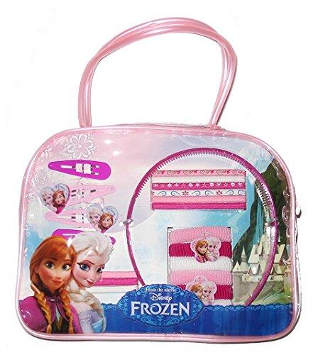Frozen - Bolsito con accesorios de pelo, 21 x 16 cm (Mercury 24018/WD7121)