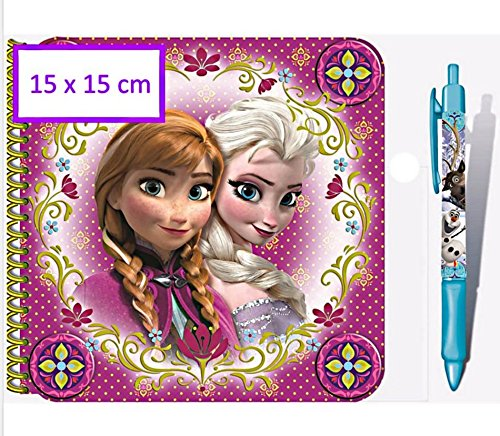 SET DE ESCRITURA FROZEN DISNEY