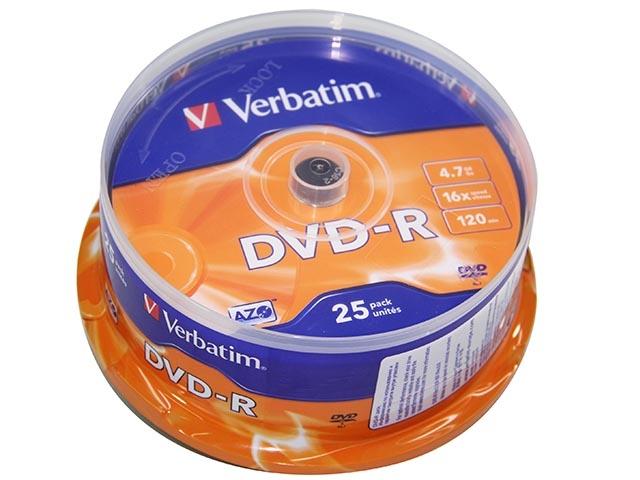TARRINAS x25 DVD -R VERVATIM