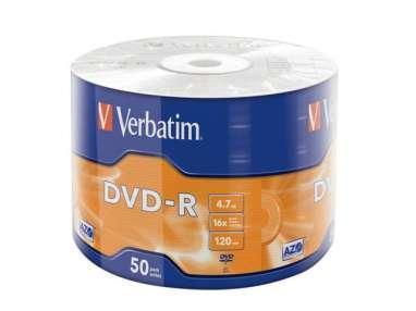 TARRINAS x50 DVD -R VERVATIM
