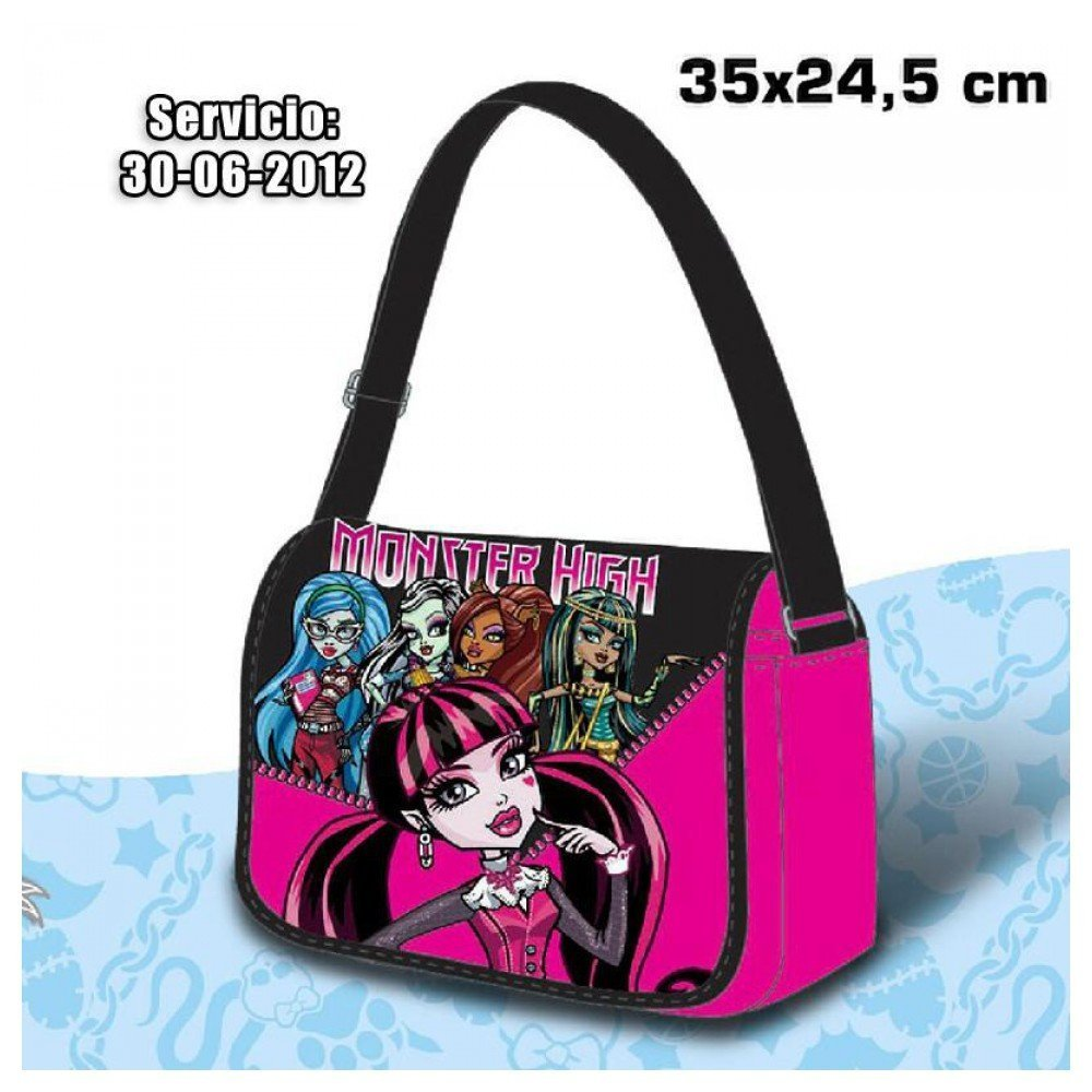 Bandolera grande Draculaura Monster High