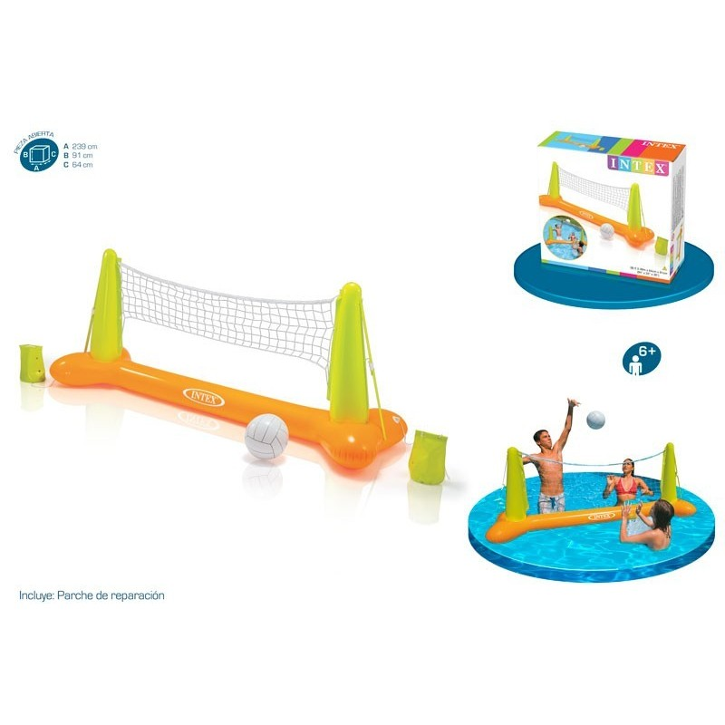 KIT VOLLEYBALL PISCINA HINCHABLE