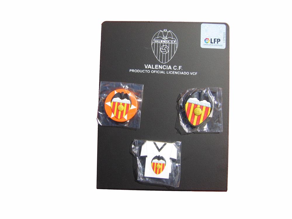 IMAN ESCUDO GOMA VALENCIA CLUB DE FUTBOL - 2610004