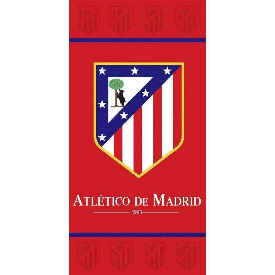 TOALLA DE PLAYA ATLETICO DE MADRID ESCUDO