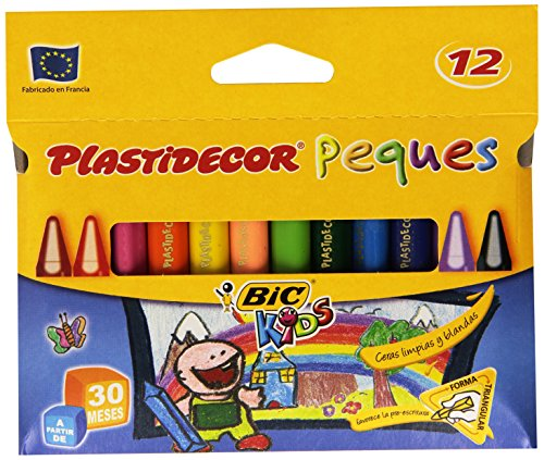 PLASTIDECOR PLASTIPEQUES 12 COLORES