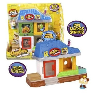 MINI PLAYSET+MASCOTA LOS BASURILLAS