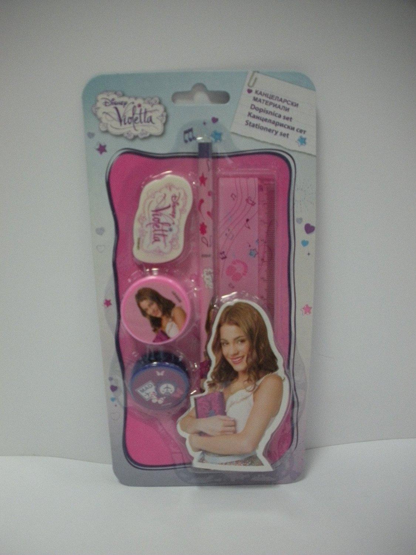 Set papeleria Violetta Disney 5pz